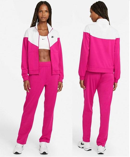 Trening dama Nike in 2 culori roz cu alb